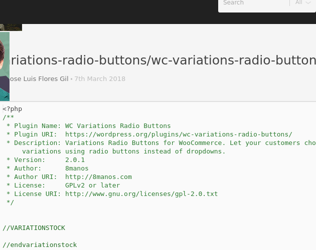 wc-variations-radio-buttons/wc-variations-radio-buttons php - Codepad