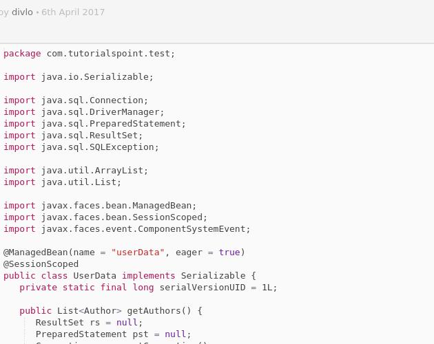 UserData java - Codepad