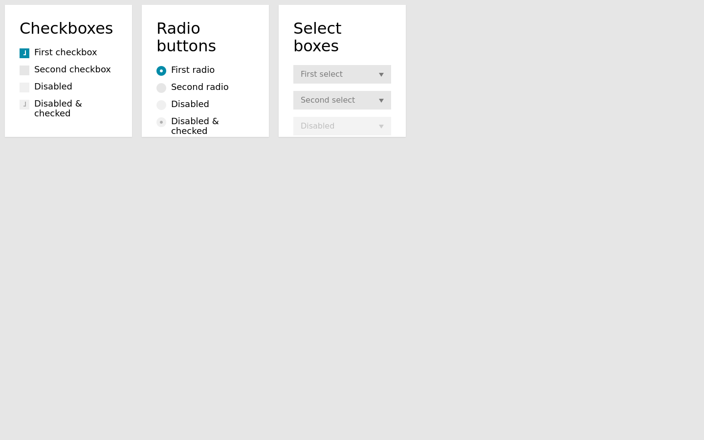Custom Style Select Css Checkboxes Css And Radio Buttons