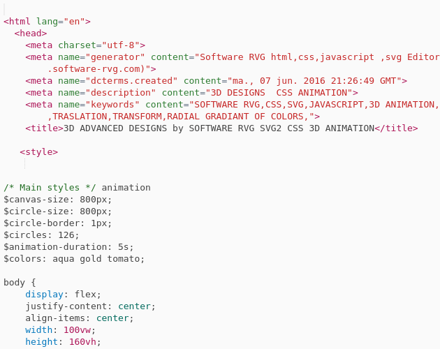 css animation circle colors on background radial gradiant