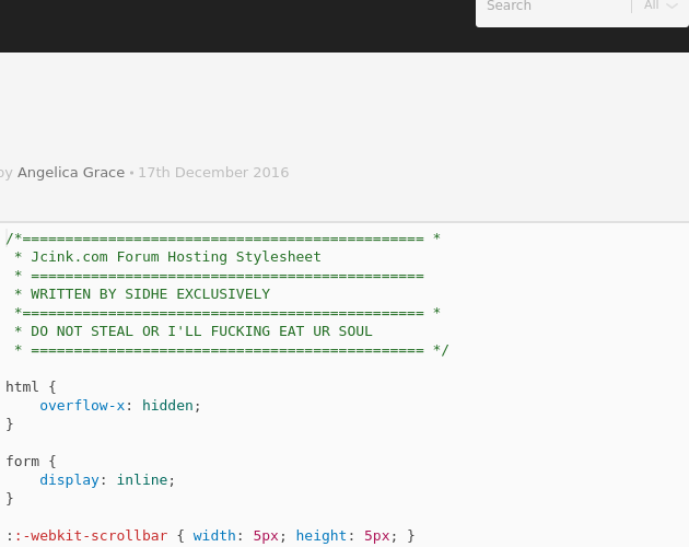 CSS - Codepad